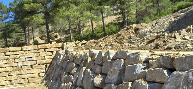 Muros de rocalla excavaciones perja - Muros de rocalla ...
