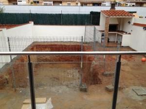 Excavación piscina Ripollet